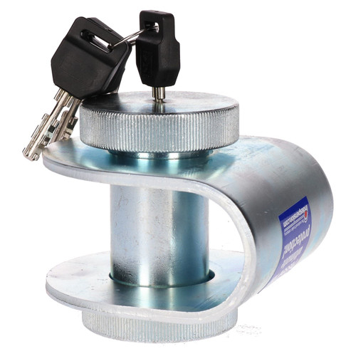 Trailer Hitch Security Lock 40 & 50mm Towing Ring Eyes Insurance Approved