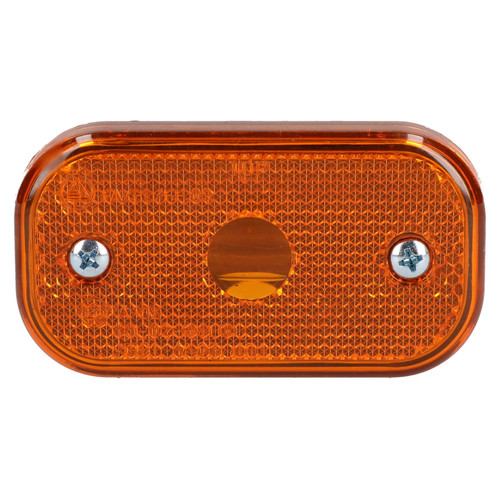 2 x Replacement Amber Orange Side Marker Light / Lamp Trailer Caravan