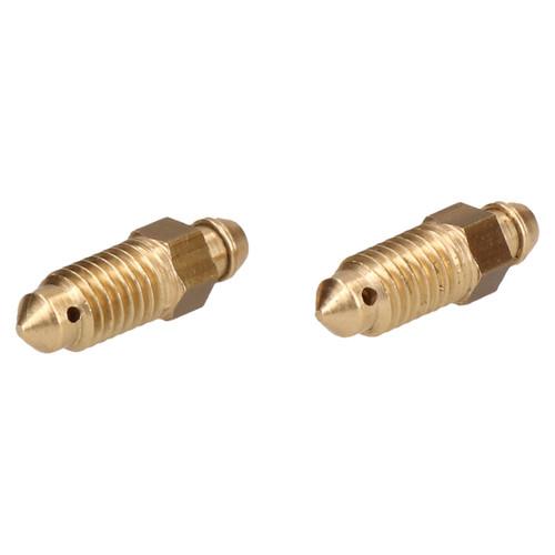 Brass Brake Caliper Bleeding Bleed Nipple Screw Bleedscrew M8 x 1.25mm 4pc