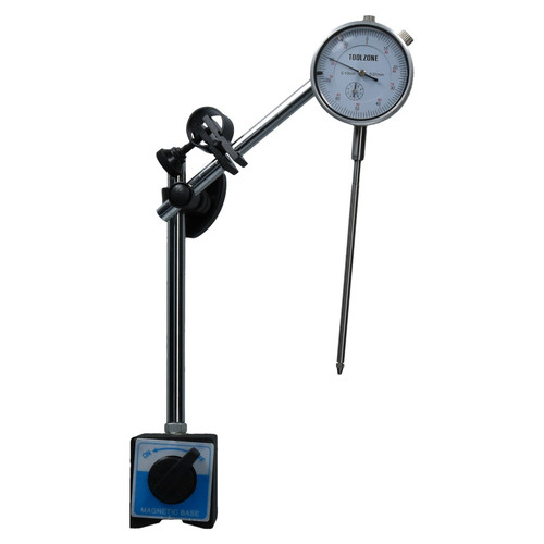 Dial test indicator DTI Gauge & Magnetic Base Stand Clock Gauge Extra Long