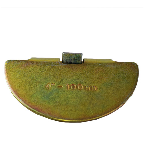 "Drop Scraper 4"" (100mm) Drain Gutter Moss Debris Unblock Rod Attachment"