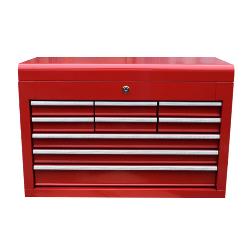 Toolbox Top Half 9 Draws Tool Chest Storage Cabinet Roller Ball Bearing Runners