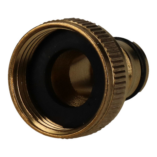 "3/4"" Brass Hose Connector Screw Tap Fitting Garden Water Pipe Quick Adaptor"