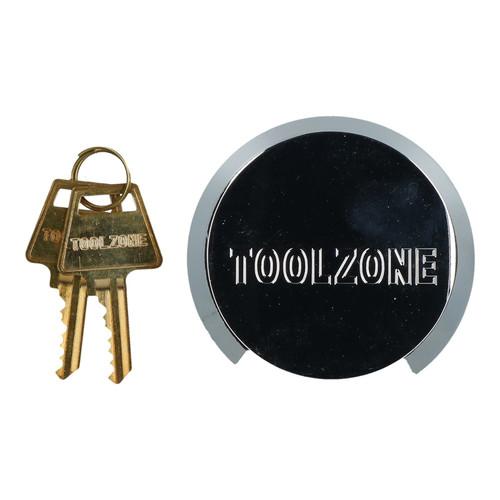 73mm Concealed Shackle Padlock Security Shed Gate Lock Brass Core 2 Keys