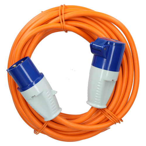 Caravan Hook Up Cable Boat Shore Power Lead 10m 16A 2.5mm HEAVY DUTY