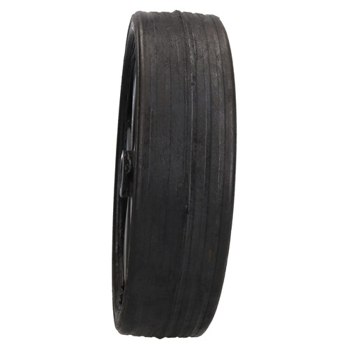 Trailer Replacement Jockey Wheel Tyre Solid Rubber 210mm Width 20.5mm Centre