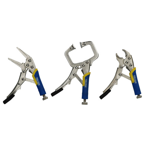 3pc Mini Locking Plier Clamp Mole Vice Grip Pliers Welding Clasp C Clamp