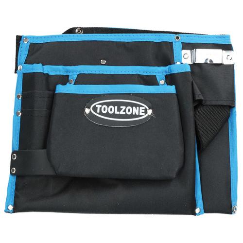 13 Pocket Nylon Tool Belt / Storage Pouch Tool Bag / Roll Mat Holder