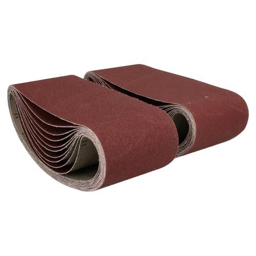 610mm x 100mm Mixed Grit Abrasive Sanding Belts Power File Sander Belt 40 Pack