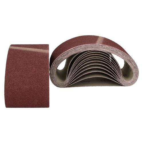 457mm x 75mm Mixed Grit Abrasive Sanding Belts Power File Sander Belt 25 Pack