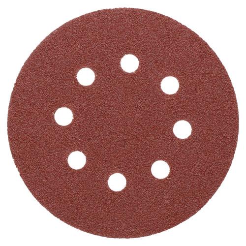 """125mm 5"""" Hook And Loop Sanding Sander Abrasive DA Discs Coarse 60 Grit 25pc"""