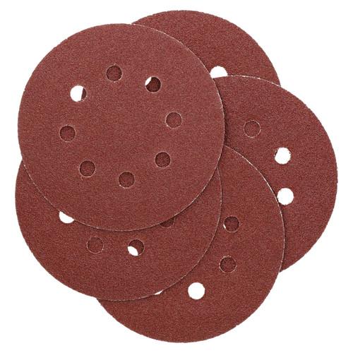 """125mm 5"""" Hook And Loop Sanding Sander Abrasive DA Discs Coarse 60 Grit 15pc"""