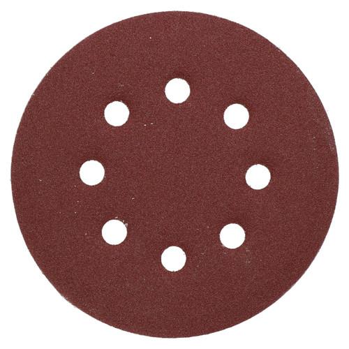 """125mm 5"""" Hook And Loop Sanding Sander Abrasive DA Discs Fine 120 Grit 25pc"""