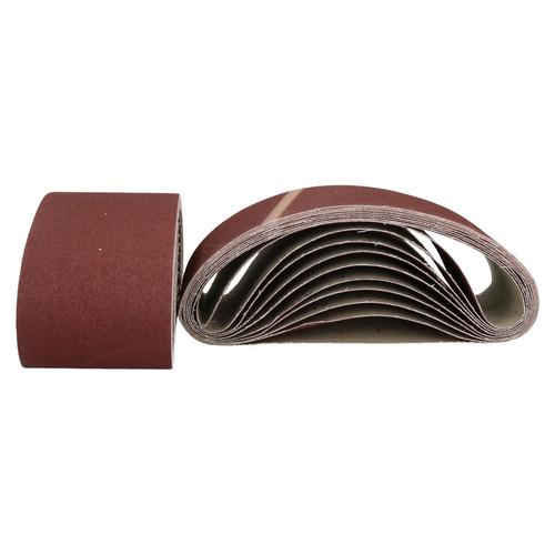 610mm x 100mm Mixed Grit Abrasive Sanding Belts Power File Sander Belt 100 PC