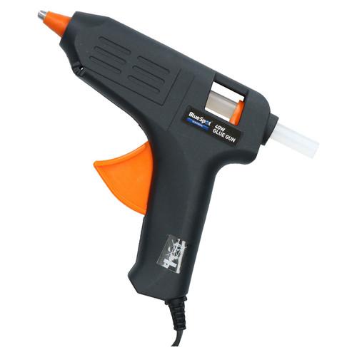 40 Watt Hobby Modelling Glue Gun Hot Melt Gluing Heat Electric Trigger +12 Glue