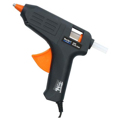 40 Watt Hobby Modelling Glue Gun Hot Melt Gluing Heat Electric Trigger + 2 Glue
