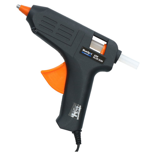 40 Watt Hobby Modelling Glue Gun Hot Melt Gluing Heat Electric Trigger + 2 Glue