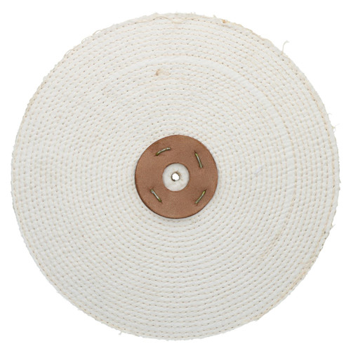 """Coarse Sisal Fast Cut Buffing Polishing Mop 12"""" x 0.5"""" 1 Row With Compound 250g"""