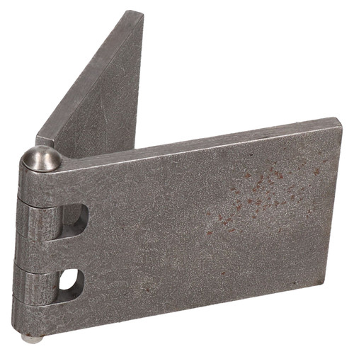 4 Pack Steel Butt Hinges Weld-On Extra Heavy Duty Industrial 50x161mm