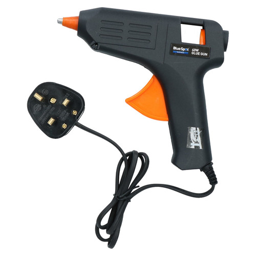 40 Watt Hobby Modelling Glue Gun Hot Melt Gluing Heat Electric Trigger +22 Glue