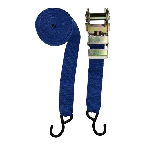 8 Trailer Car Recovery Trailer Ratchet Lashing Tie Down Strap 750kgs 30ftx50mm