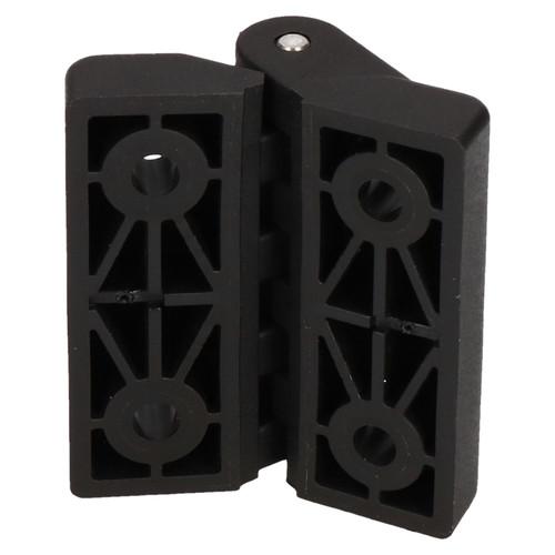 Industrial Polymide Plastic Hinge 64x65mm Door Hatch Locker Italian Made 2PK