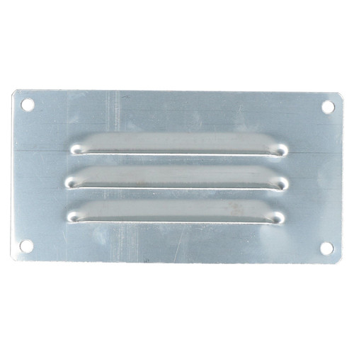 2 PACK 127mm x 66mm Stainless Steel Small Horizontal Vent