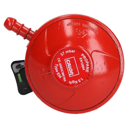 Genuine Calor Gas Clip-On Propane Regulator 27mm 37mbar Patio Gas
