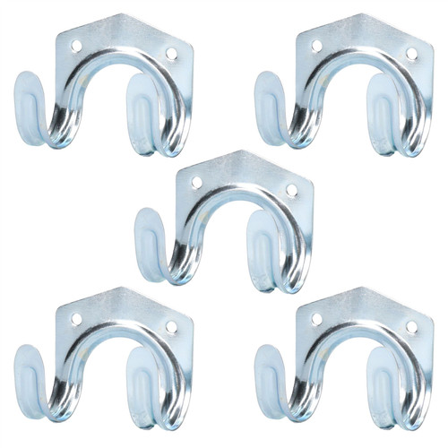 Tool Storage Hooks Hangers Hanging For Garages Sheds Tool Holders 5pc Set