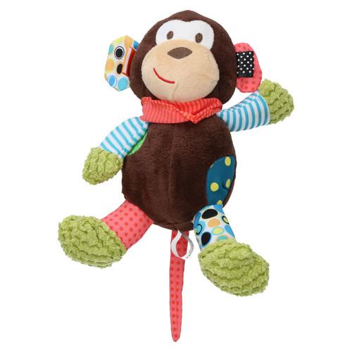 "Mitchell Monkey Comfort Dog Toy With Squeak 25cm/10"""