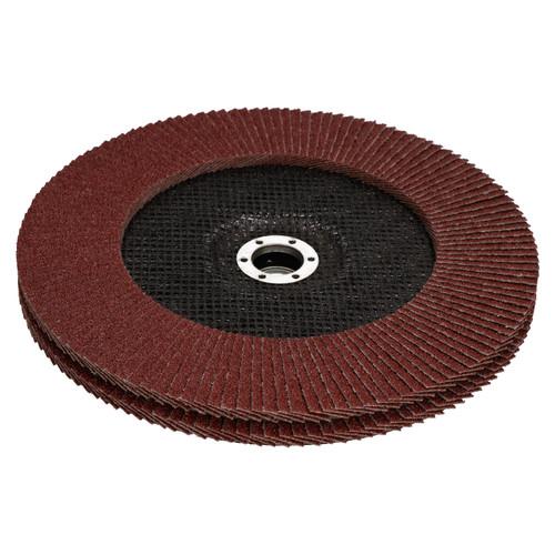 "40 Grit Flap Discs Sanding Grinding Rust removing for 9"" (230mm) Grinders 8 PK"