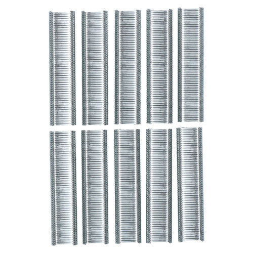 Hog Rings Staples Upholstery Fasteners Hogrings Clips SR8 Galv Steel 1000pc