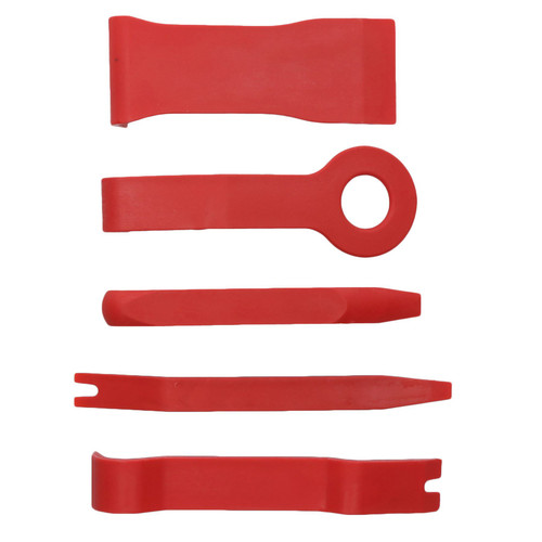 Car Trim Remover Removal Removing Set For Upholstery Trims Plastic Rivets 5pc