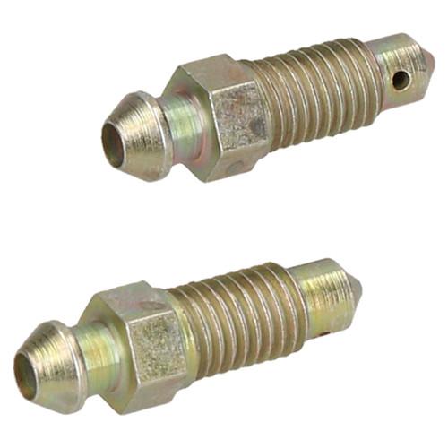 7mm x 1mm Steel Brake Caliper Bleeding Bleed Nipple Screw Bleedscrew 4pc