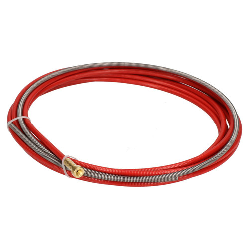 P.C. Liner Wire 1.0 - 1.2mm x 4M Welding Red Steel Plastic Coated MIG Torch