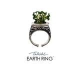 Takohl Earth Ring organic ring sterling silver