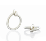Love tied around your finge a timeless symbol of everlasting love. Love Knot Ring.