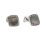 Stephen webster mother of pearl cufflinks