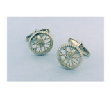 Takohl Bicycle Wheel Cufflinks