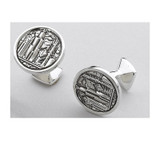 Small Chicago Skyline Cufflinks Takohl
