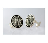 Large Chicago City Cufflinks Takohl