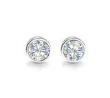 Takohl Diamond Stud Earrings