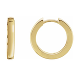 Classic Hinged Hoop Earrings