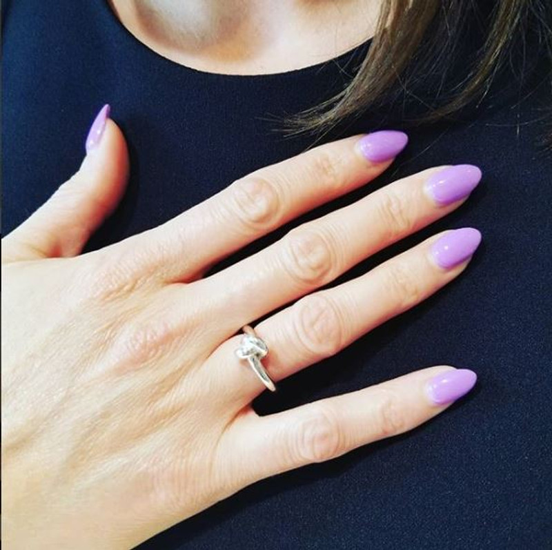 Love Knot Ring on client