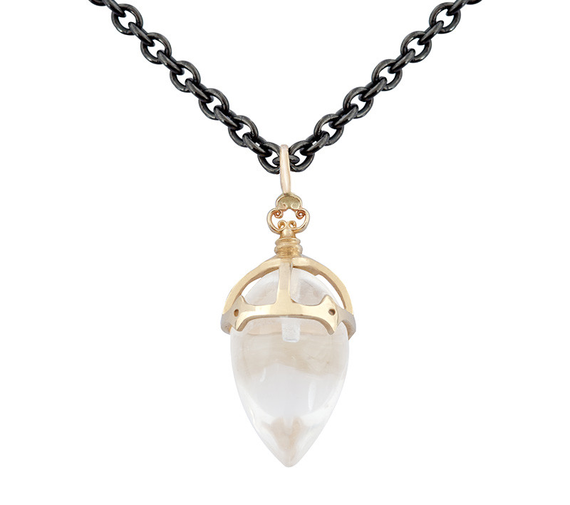 Imperial Pointed Drop Necklace Takohl