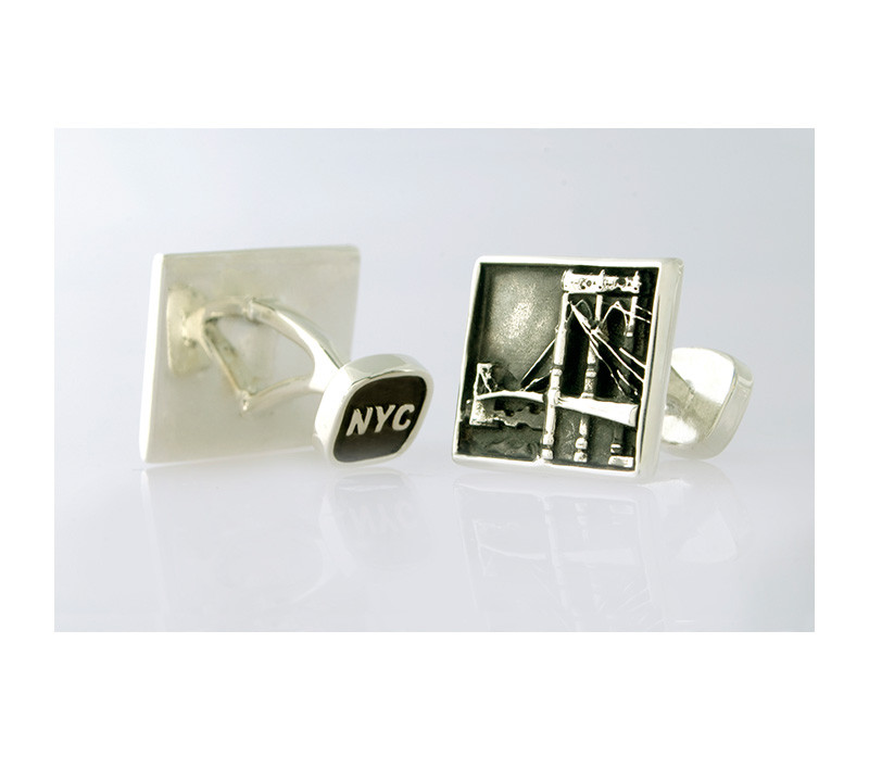 Takohl Brooklyn Bridge Cufflinks