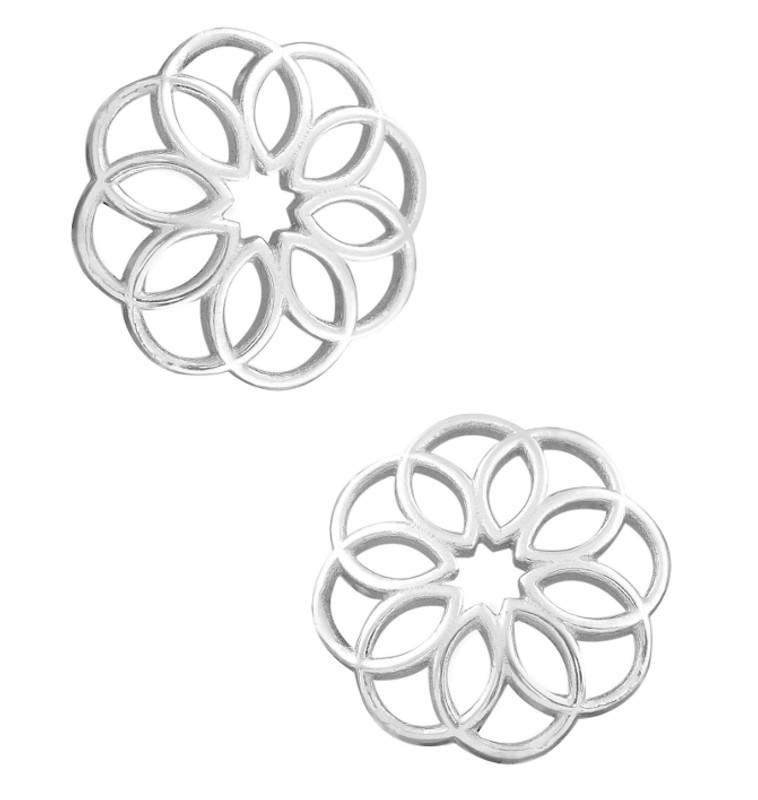 Takohl silver cathedral earring