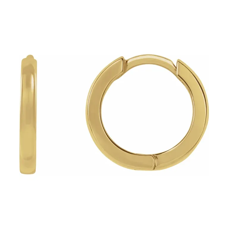Takohl thin gold and silver hoops