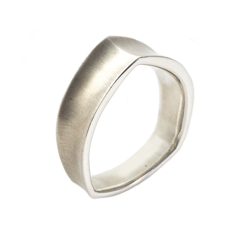 Takohl Cathedral Ring Sterling Silver