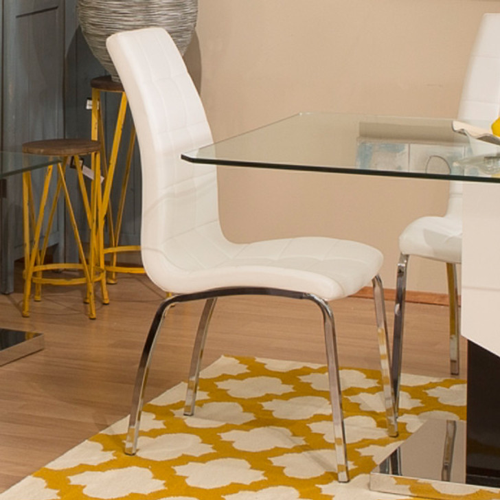Merion White Dining Chair